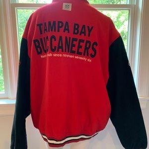 Official NFL Tampa Bay Buccaneers Wool Jacket